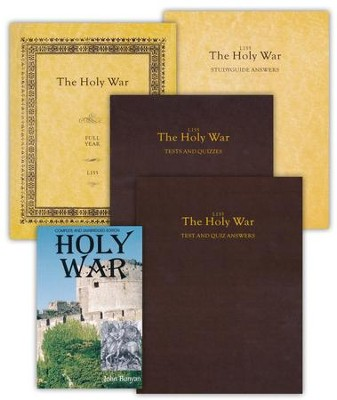 Landmark's Freedom Baptist Lit. L155: Bunyan's The Holy War Gr 11    -