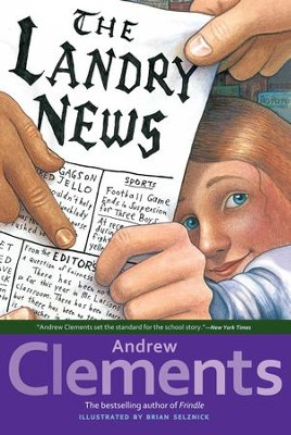 The Landry News - eBook  -     By: Andrew Clements