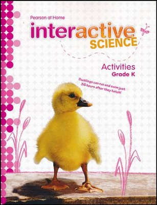 Pearson Interactive Science Grade K Activities    -