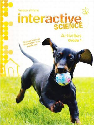Pearson Interactive Science Grade 1 Activities   -