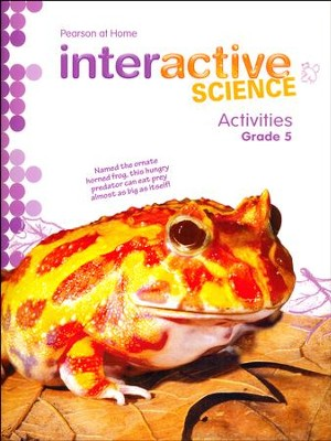 Pearson Interactive Science Grade 5 Activities   -