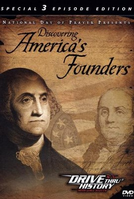 Discovering America's Founders, 3 Episodes, DVD   -