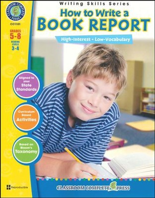 How to Write a Book Report Grades 5-8  -     By: Brenda Rollins