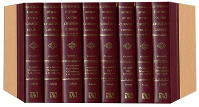 History of the Christian Church, 8 Volumes   -     By: Philip Schaff