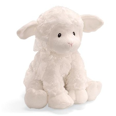 Jesus Loves Me, Musical Wind-Up Lamb  -
