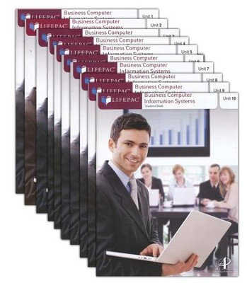 Business Computer Information Systems Lifepacs (set of 10)  -