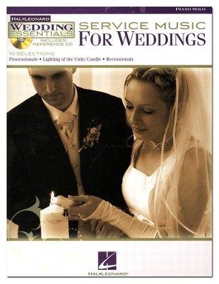 Service Music for Weddings (Piano Solo)   -