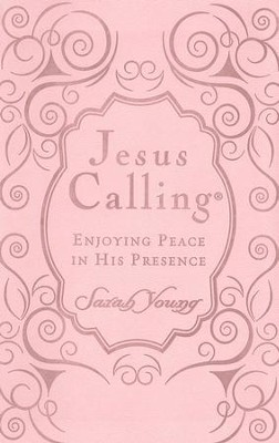 Jesus Calling, Women's Ed. Imitation Leather - Pink   -     By: Sarah Young