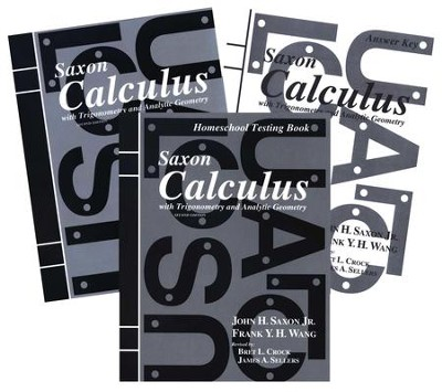 Saxon Calculus, 2nd Edition, Home Study Kit       -