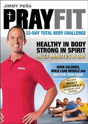 PrayFit: 33-Day Total Body Challenge, DVD  -     By: Jimmy Pena