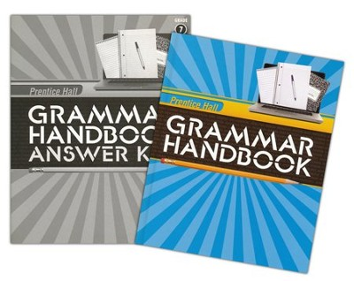 Prentice Hall Grammar Handbook Grade 7 Homeschool Bundle    -