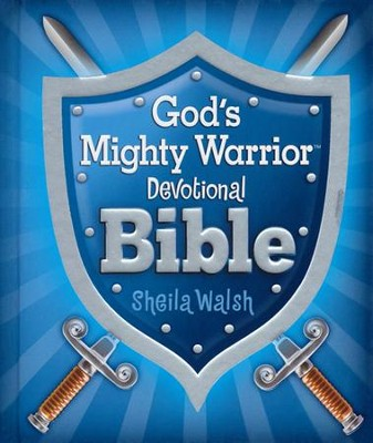 ICB God's Mighty Warrior Devotional Bible, hardcover  -     By: Sheila Walsh