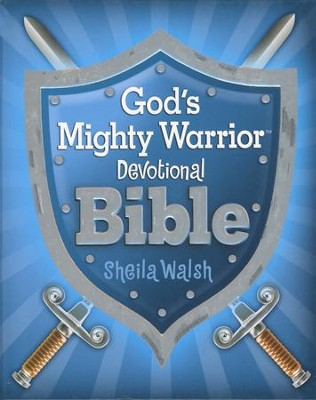 ICB God's Mighty Warrior Devotional Bible, hardcover - Slightly Imperfect  -     By: Sheila Walsh