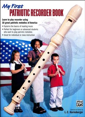 My First Patriotic Recorder Book   -