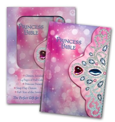 ICB Princess Bible-Tiara, Hardcover  -