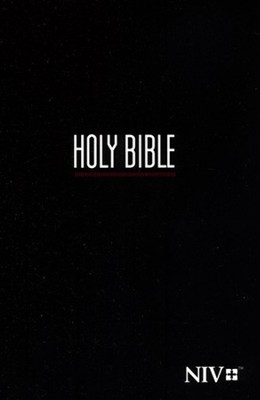 NIV Compact Bible, Black  -