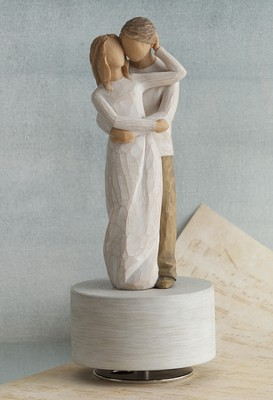 Willow Tree, Together Musical Figurine  -     By: Susan Lordi