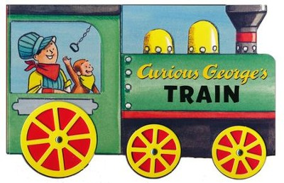 Curious George's Train (mini movers shaped board books)  -     By: H.A. Rey