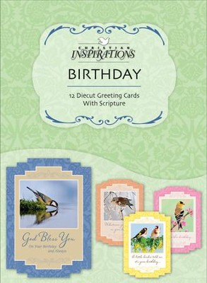 Marvelous Works, Birthday Cards, Box of 12  -