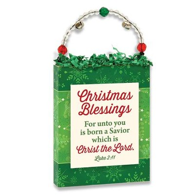 Christmas Blessings Plaque  -
