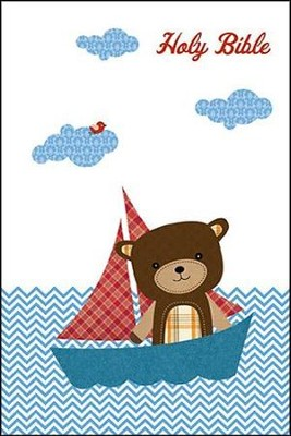 ICB Baby Bear Bible, Boy Edition  -