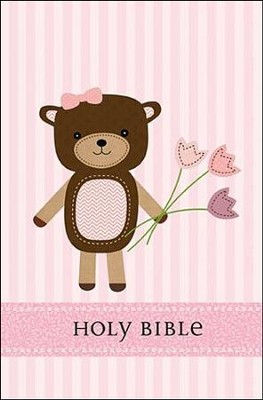 ICB Baby Bear Bible, Girl Edition  -