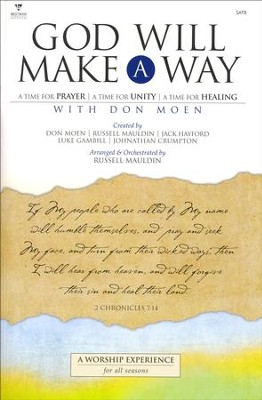 God Will Make A Way, Choral Book   -     By: Russell Mauldin