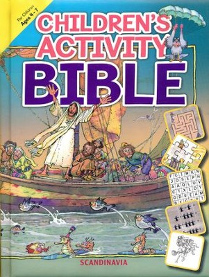 Children's Activity Bible  -