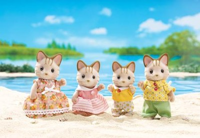 Calico Critters Sandy Cat Family  -