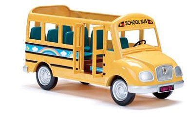 Calico Critters, School Bus  -