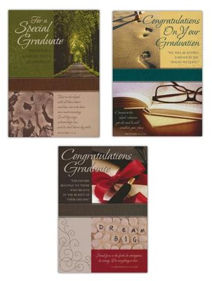 Graduation Blessings, Box of 12   -