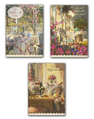 Friendship Cards, Time for Tea, Box of 12   -     By: Sandy Clough