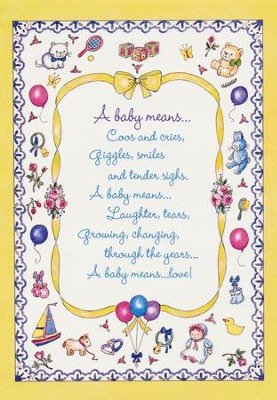 Little Miracles, New Baby Cards, Box of 12   -