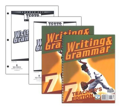 BJU Writing & Grammar Grade 7 Kit, Third Edition   -