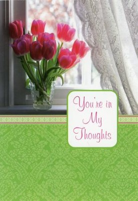 Springtime Bouquets/Thinking of You Cards, Box of 12   -