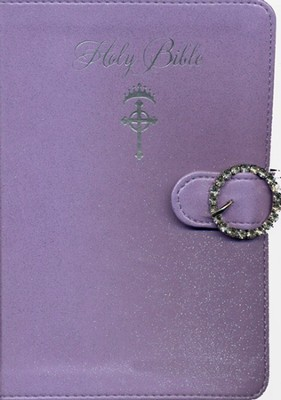 NKJV Princess Bible--imitation leather, lavender   -