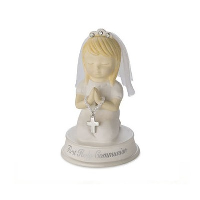 Praying Girl Figurine  -