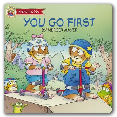 You Go First, Boardbook   -     By: Mercer Mayer