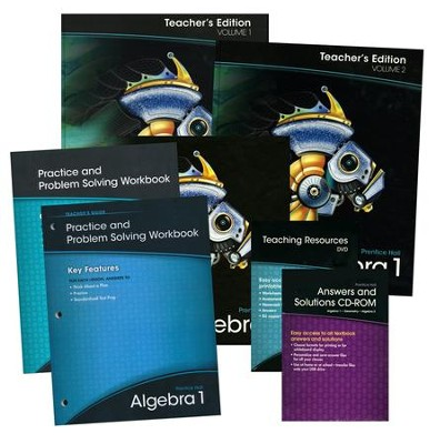 Prentice hall algebra 1 homeschool bundle 9780133322453 prentice hall algebra 1 homeschool bundle fandeluxe Gallery