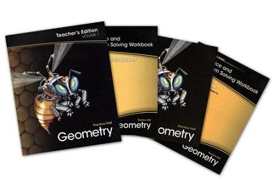 Prentice Hall Geometry Homeschool Bundle   -