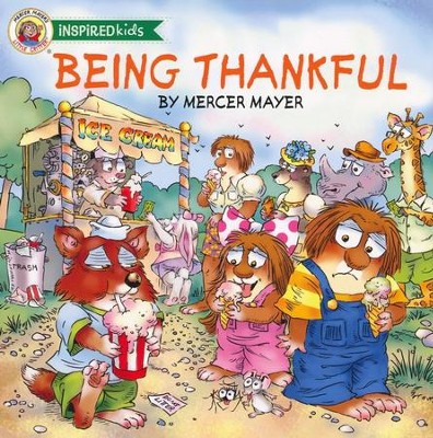 Being Thankful Board Book - By: Mercer Mayer