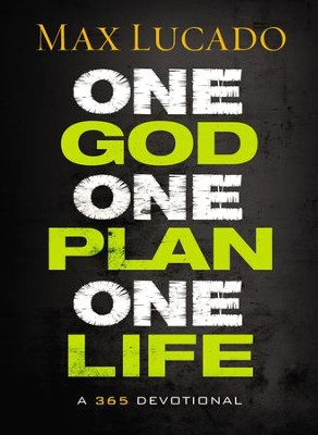One God, One Plan, One Life   - Slightly Imperfect  -     By: Max Lucado