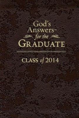 God's Answers for the Graduate: Class of 2014, Brown  -     By: Jack Countryman