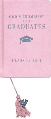 NKJV God's Promises for Graduates: Class of 2014, Pink  -     By: Jack Countryman