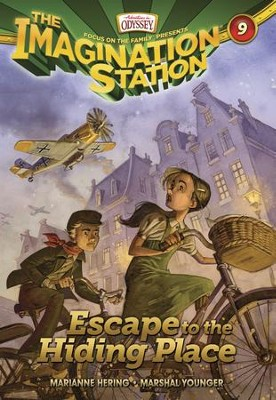 Adventures in Odyssey The Imagination Station ® #9: Escape  to the Hiding Place - eBook  -     By: Marianne Hering