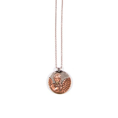 Angel Tag Necklace  -