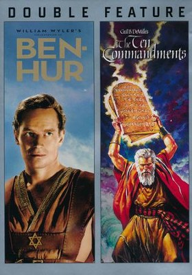 Ben-Hur/The Ten Commandments: Double Feature DVD  -