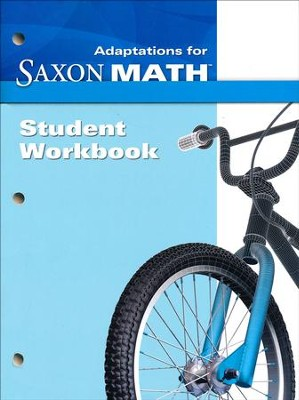 Saxon Math Intermediate 3 Adaptations Student Workbook   -