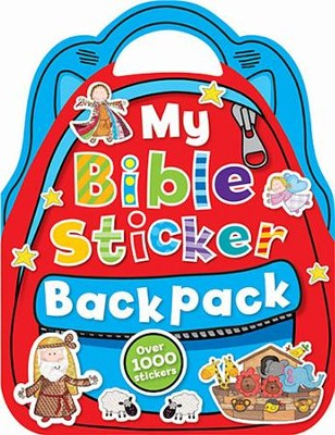 My Bible Sticker Backpack  -     By: Fiona Boon