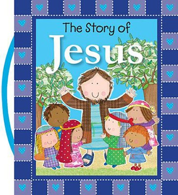The Story of Jesus, padded board book   -